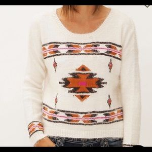 Billabong Late for Luv Aztec Sweater